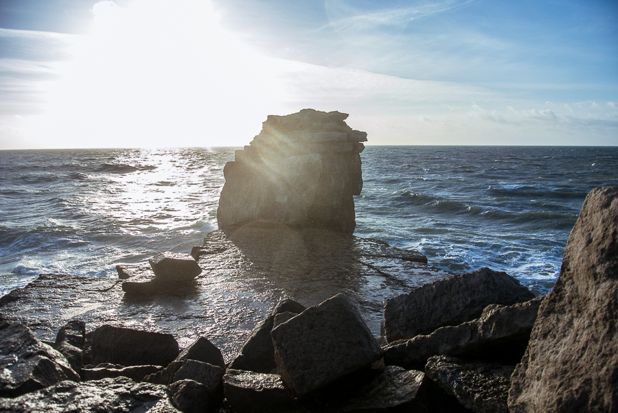 Portland Bill Dorset Portrait Landscape Photographer pulpit rock