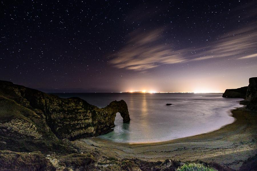 Dorset Landscape Photographer Durdle Door stars