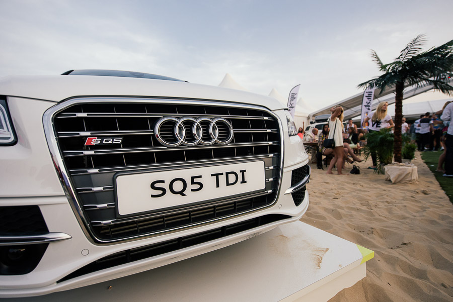 sandbanks beach polo portrait of an audi