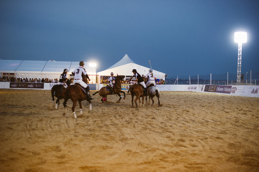 sandbanks beach polo horse action 3