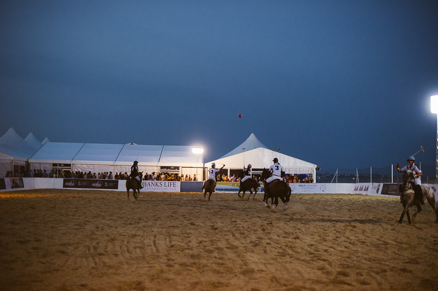 sandbanks beach polo horse action 4