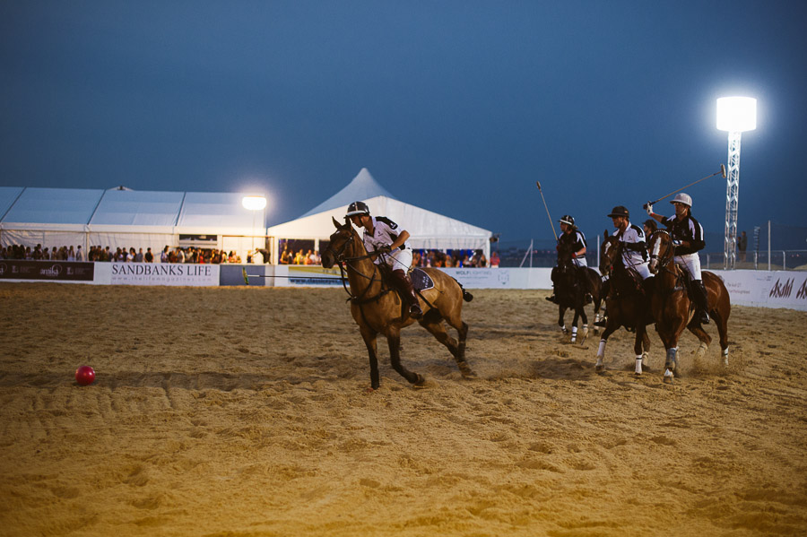 sandbanks beach polo horse action 6