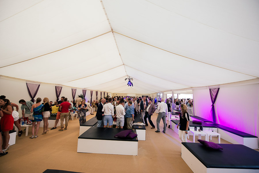 sandbanks beach polo vip tent