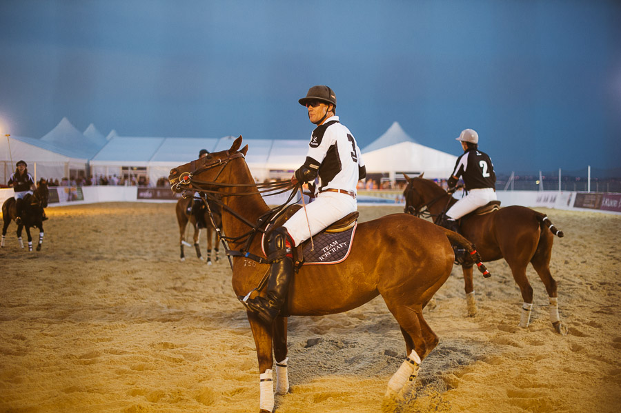 sandbanks beach polo horse action 7