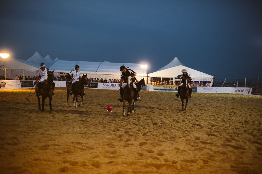 sandbanks beach polo horse action 8