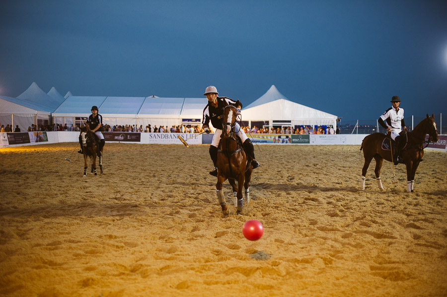 sandbanks beach polo horse action 9