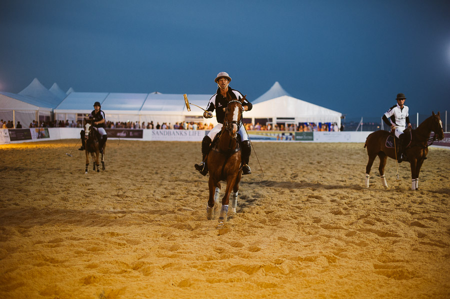sandbanks beach polo horse action 10