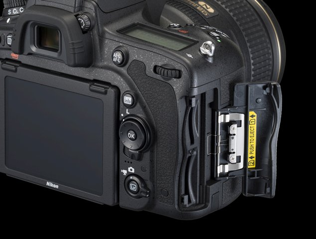 nikon d750 review body memory card dual slots