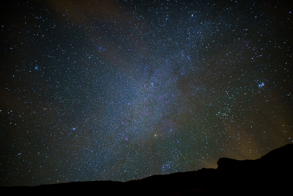 the sky at night with the sigma 20mm with the ridge at durdle door
