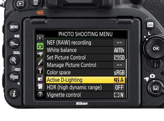 nikon d750 photo menu review